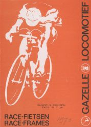 Gazelle Locomotief options and trade prices 1969